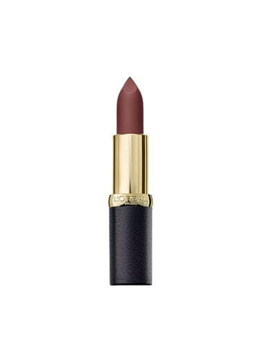 L'Oréal Paris Color Riche Matte Addiction Ruj 654 Bronze Sautoir - Kahverengi Kahve